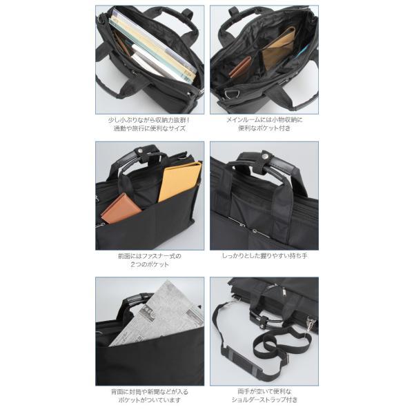 ビジネスバッグ メンズ 軽量 ショルダーバッグ ブリーフケース A4 ショルダーストラップ付 2way 多機能ポケット 通勤 出張 就職活動 激安 (2936black)|yumesse|06