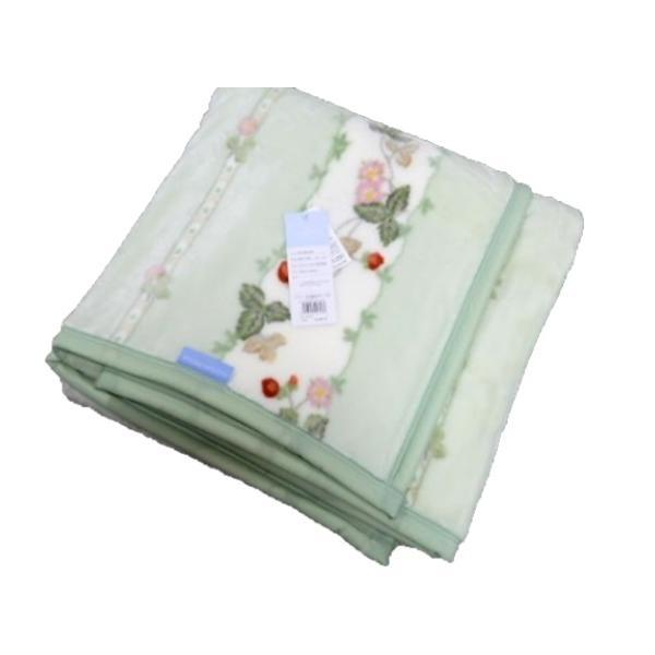 毛布 シングル 140×200cm ウェッジウッド ニューマイヤー毛布 暖かい 洗える 西川 日本製 WEDGWOOD おしゃれ ブランド WW7620 yumesse 05