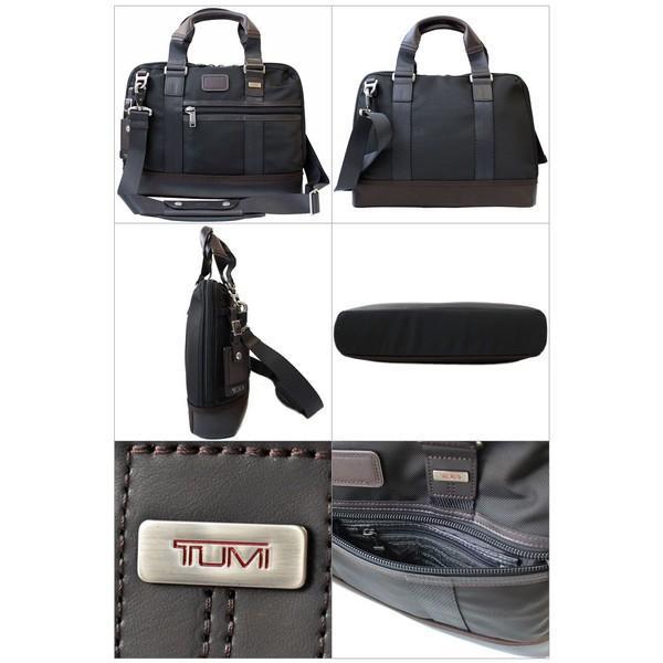 トゥミ ビジネスバッグ ブリーフケース A4サイズ ショルダーストラップ付 「アール」 コンパクト ブリーフ TUMI 0222610H yumesse 02