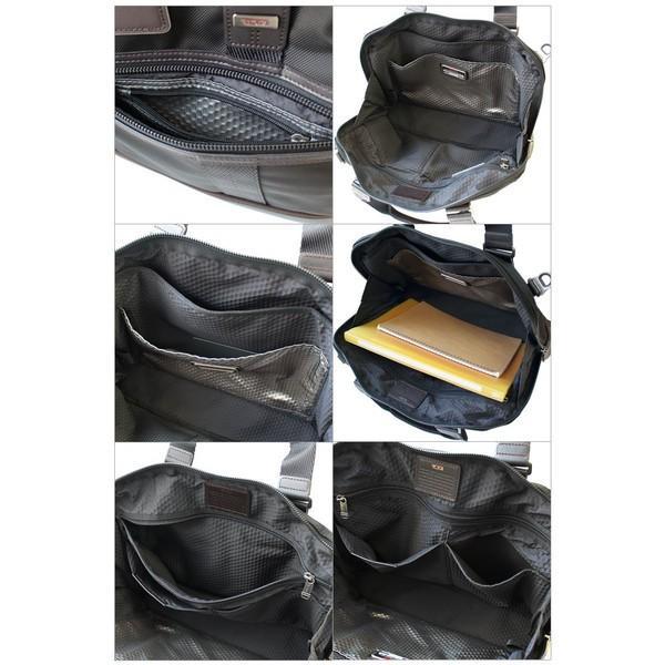 トゥミ ビジネスバッグ ブリーフケース A4サイズ ショルダーストラップ付 「アール」 コンパクト ブリーフ TUMI 0222610H yumesse 03