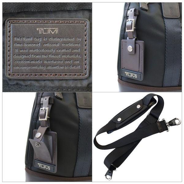 トゥミ ビジネスバッグ ブリーフケース A4サイズ ショルダーストラップ付 「アール」 コンパクト ブリーフ TUMI 0222610H yumesse 04
