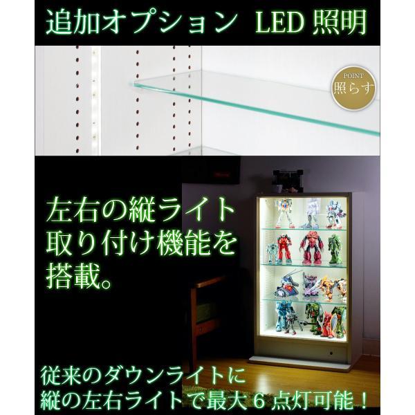 コレクションラック ロータイプ  ガラス引戸タイプ (幅90cmX奥行39cm) [選べる5カラー][ほこりをシャットアウト](送料無料)|yumugiya|02