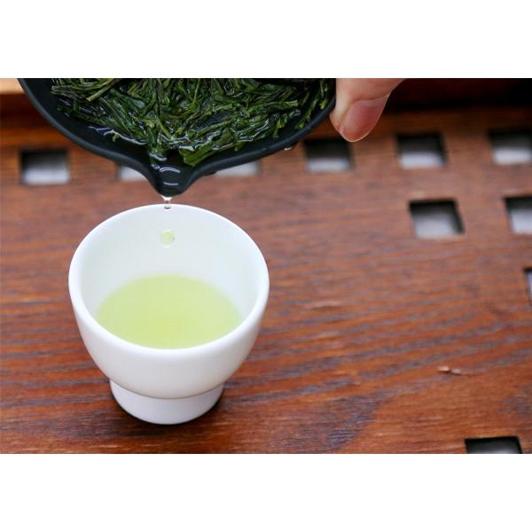 緑茶 煎茶 茶葉 東頭 とうべっとう 100g お茶 静岡茶 お茶の葉 高級 水出し茶 シングルオリジン ティー|yunoha|05