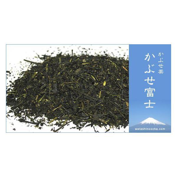 緑茶 かぶせ茶 茶葉 かぶせ富士 100g お茶 静岡茶 お茶の葉|yunoha|03