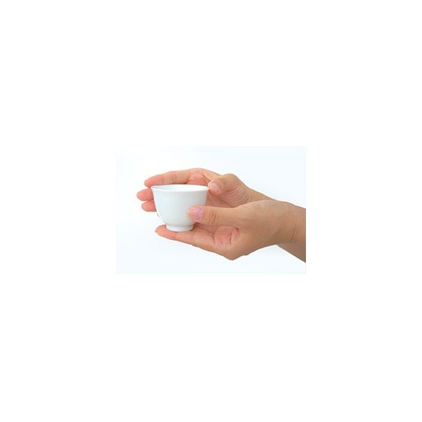 玉露・煎茶用湯呑み 白磁茶碗 単品 約40cc 茶器 煎茶用 玉露用 |yunoha|02