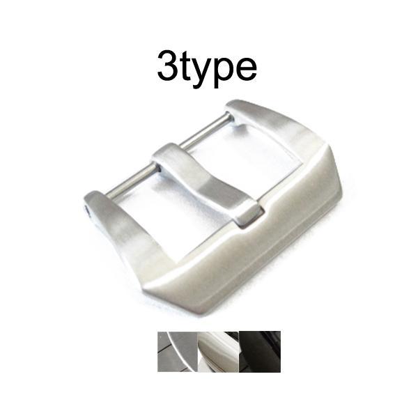 「パネライPANERAI向け」輸入王オリジナルフィッシュテールタイプ尾錠BAバックル社外品メンズ腕時計ベルト用