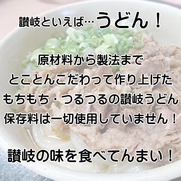 讃岐うどん 送料無料 半生  ギフト 20人前|yurakuya-udon|03