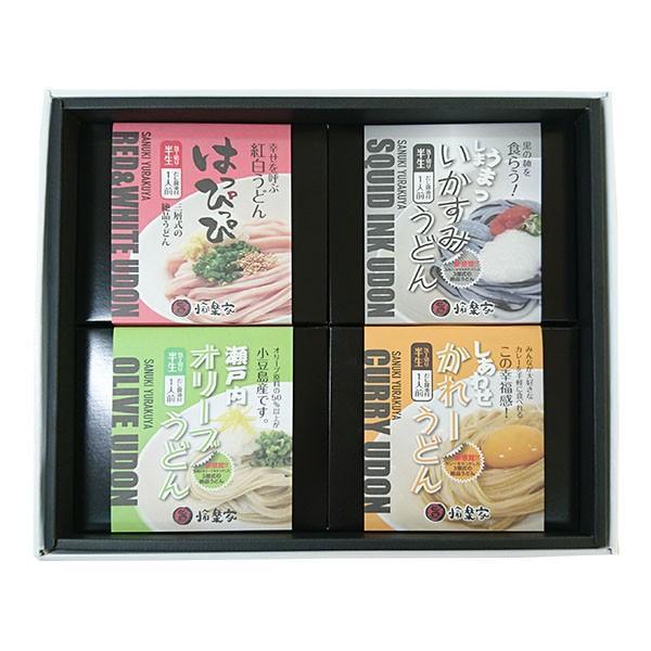 讃岐うどん ギフト 讃想 4種×2個セット お中元|yurakuya-udon|03