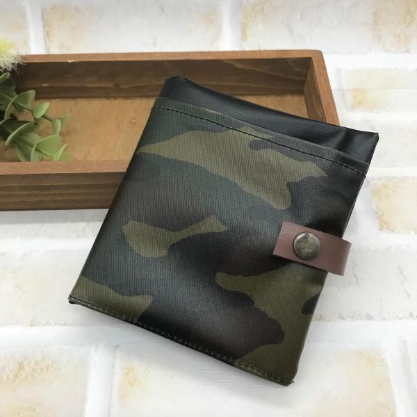 携帯用ティッシュケースBOXティッシュケースマスクケース黒迷彩使える便利グッズ