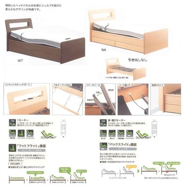 家具 寝具 ベッド HOLEY 1M 引出なし KBS-122-OY1NS