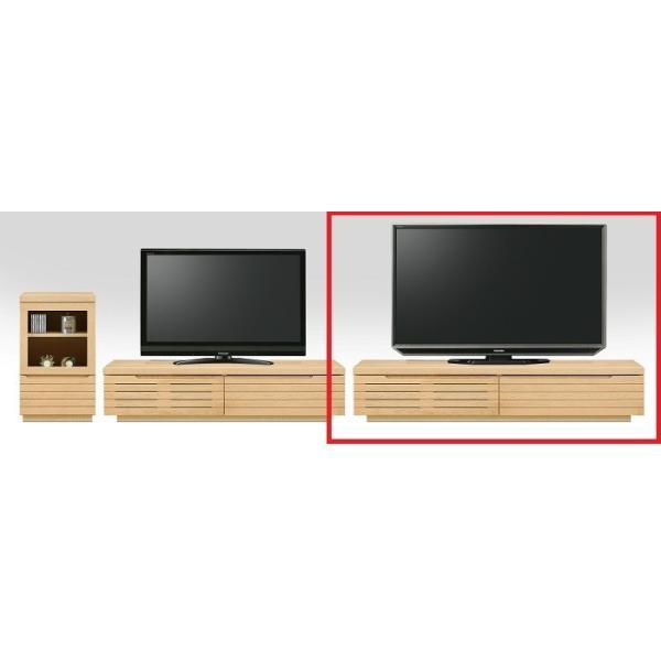 家具 収納 棚 ボード NEWスリット 180 TVローボード 2色