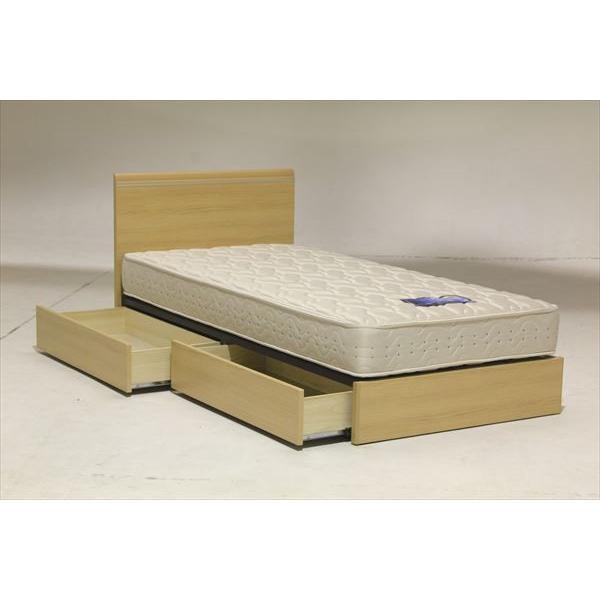 イーポイント ベッドフレーム BOXタイプ 220H Q2サイズ クイーン 引出し付き 2色 【送料無料(一部地域除く)】