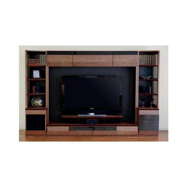 収納・ボード VAICE ヴァイス ガラス戸40 右 テレビボード リビングボード ホームシアターに適したシステムハードボード 【送料無料】