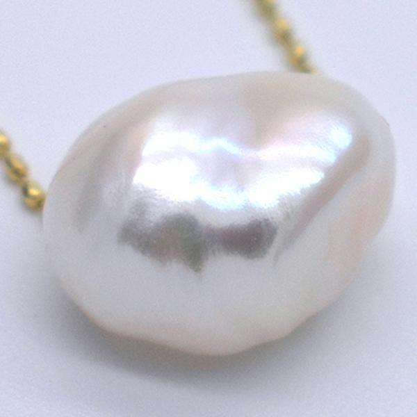 大粒 淡水パール オーロラ バロック ケシ 1粒 11~14mm 素材 パーツ ポイント消化 yusa-jewelry