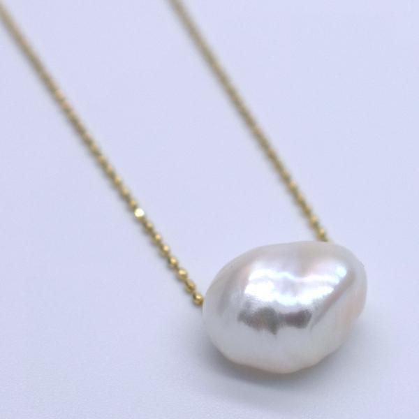 大粒 淡水パール オーロラ バロック ケシ 1粒 11~14mm 素材 パーツ ポイント消化 yusa-jewelry 02