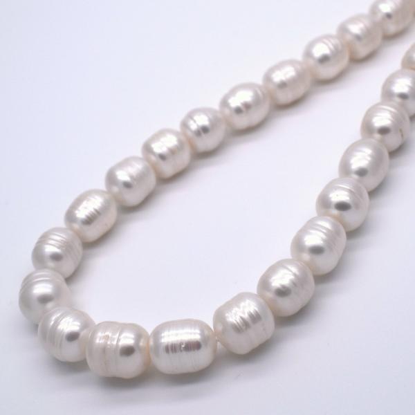 淡水パール サークル ナッツ 大粒 4粒 11mm パーツ 素材 材料 ルース|yusa-jewelry|02