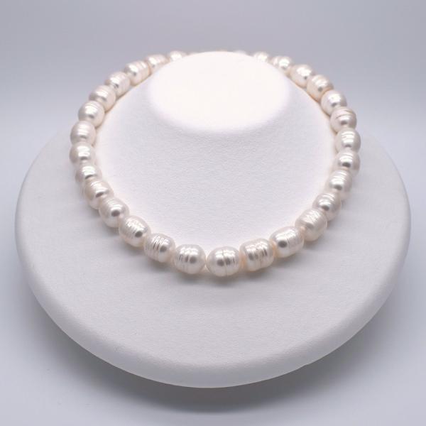 淡水パール サークル ナッツ 大粒 4粒 11mm パーツ 素材 材料 ルース|yusa-jewelry|03