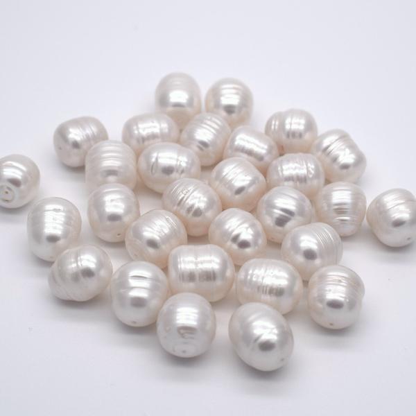 淡水パール サークル ナッツ 大粒 4粒 11mm パーツ 素材 材料 ルース|yusa-jewelry|04