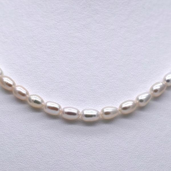 淡水パール ライス 中粒 ホワイト系 真珠 1粒 6~8mm 素材 パーツ 材料 ポイント消化|yusa-jewelry|03