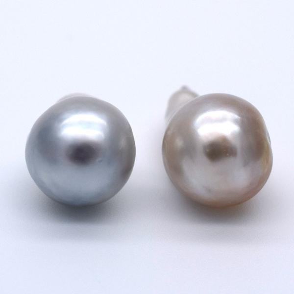 白蝶真珠 無穴 バロック ドロップ 素材 パーツ ホワイト ゴールド シルバー バラ yusa-jewelry 05