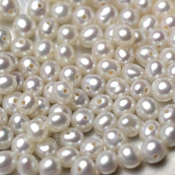 淡水ベビーパール パーツ 素材 ビーズ 真珠 ホワイト 極小 1粒 2.5~3.5mm yusa-jewelry