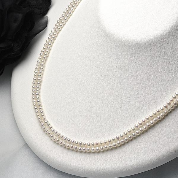 淡水ベビーパール パーツ 素材 ビーズ 真珠 ホワイト 極小 1粒 2.5~3.5mm yusa-jewelry 02