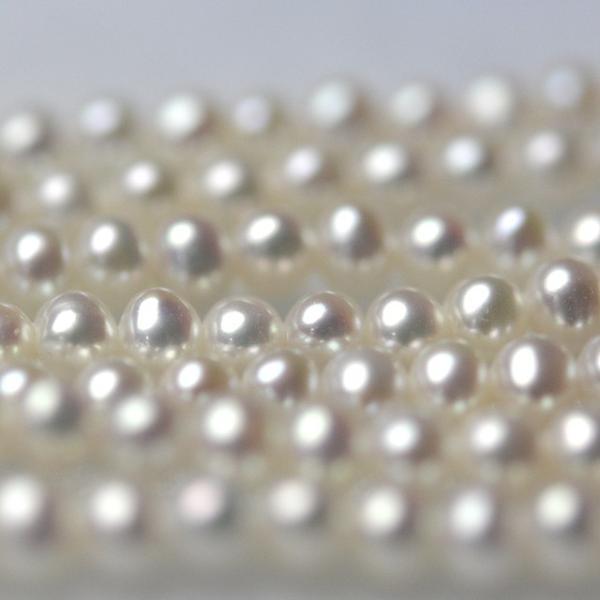 淡水ベビーパール パーツ 素材 ビーズ 真珠 ホワイト 極小 1粒 2.5~3.5mm yusa-jewelry 03