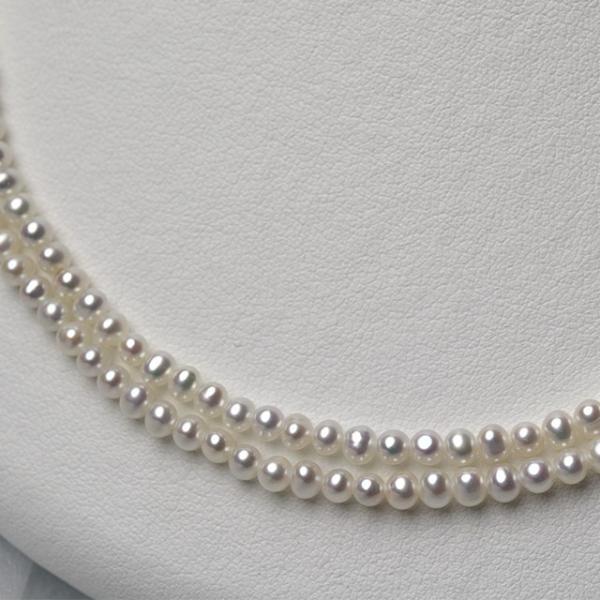 淡水ベビーパール パーツ 素材 ビーズ 真珠 ホワイト 極小 1粒 2.5~3.5mm yusa-jewelry 04