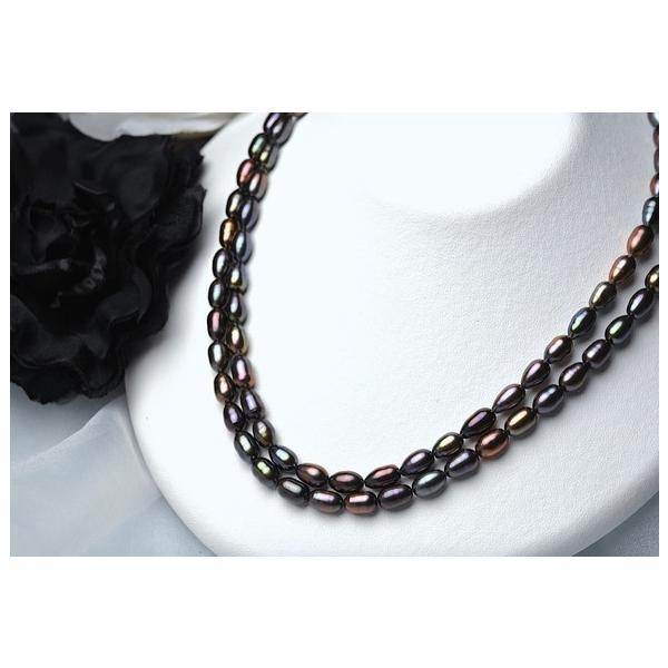 淡水パール ライス パーツ 素材 ビーズ 真珠 1粒 6~7mm|yusa-jewelry|02