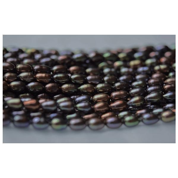 淡水パール ライス パーツ 素材 ビーズ 真珠 1粒 6~7mm|yusa-jewelry|03