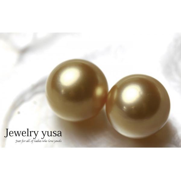 白蝶ゴールデンパール 無穴珠|yusa-jewelry|02