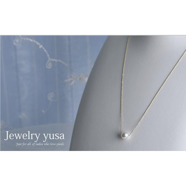 アコヤ真珠スルーペンダントネックレス あこや 本真珠 パール 9.0mm K18 K18WG ゴールドチェーン ギフト パーティー 選べる10タイプ 送料無料|yusa-jewelry|04