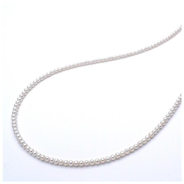 極小淡水パールネックレス 真珠 SV925 ピアスセット 金属アレルギー対応 送料無料 ポイント消化 yusa-jewelry