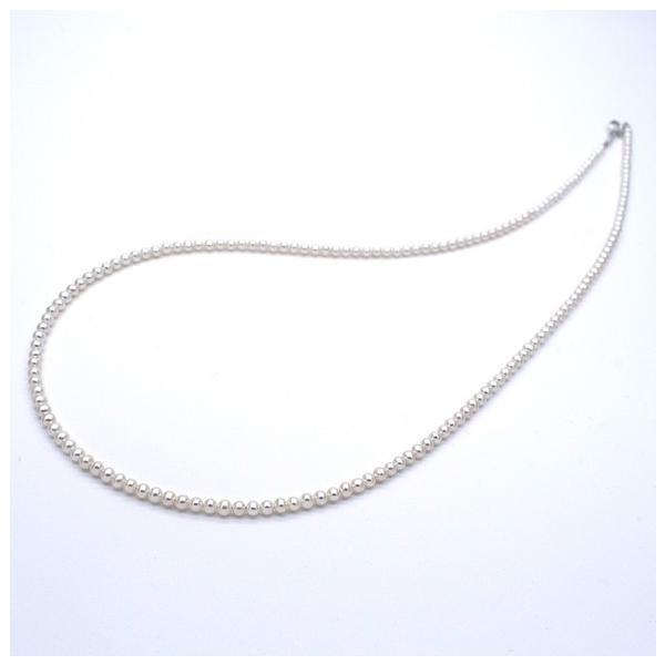 極小淡水パールネックレス 真珠 SV925 ピアスセット 金属アレルギー対応 送料無料 ポイント消化 yusa-jewelry 02