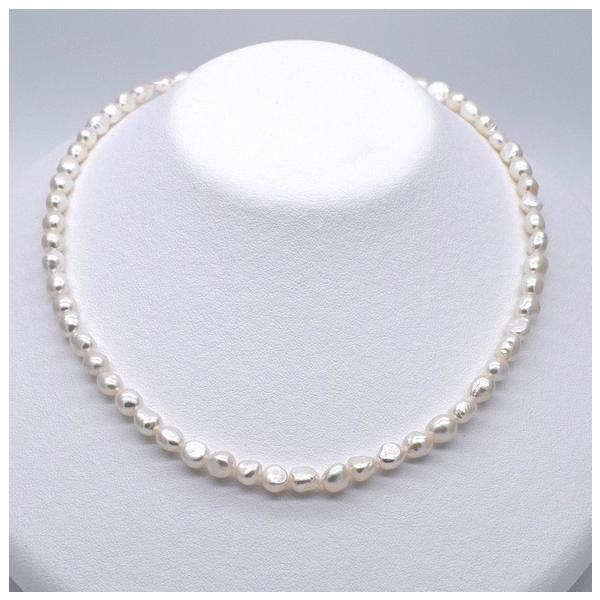 淡水真珠 バロックボタンライス 1粒 5~7mm 貫通穴 ホワイト系  パール ビーズ パーツ|yusa-jewelry|04