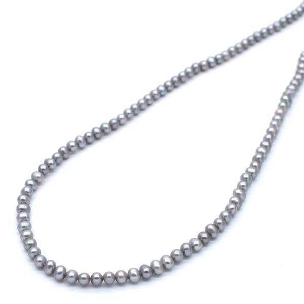 淡水パール ラウンド 極小 小粒 パーツ 素材 真珠 シルバーグレー系 10粒 3mm|yusa-jewelry|03