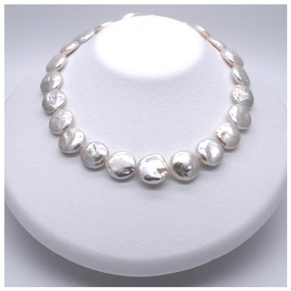 淡水パール 訳あり バロック オーロラ コイン 本真珠 パーツ 素材 ビーズ  15~20mm 1粒|yusa-jewelry|04