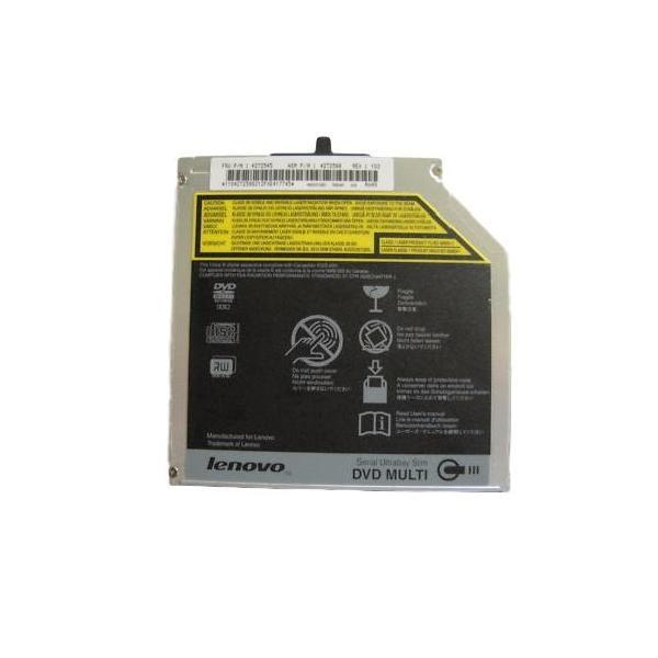 (中古品)Lenovo HITACHI/LG GSA-T50N 内蔵 12.7mm SATA DVDマルチドライブ ベゼルなし ThinkPad ._ yusyo-shopping