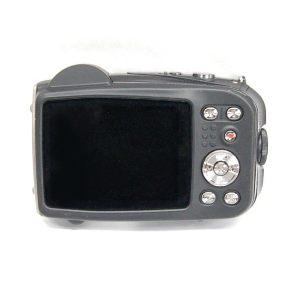 (中古品)FUJIFILM 防水デジタルカメラ FinePix XP60(本体+ACアダプタ+USBケーブル) ._