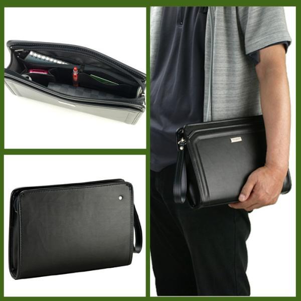 ANDY HAWARD 日本製 豊岡製鞄 セカンドポーチ セカンドバッグ ビジネスバッグ メンズ B5 29cm No25801-01 クロ  ...|yusyo-shopping|02