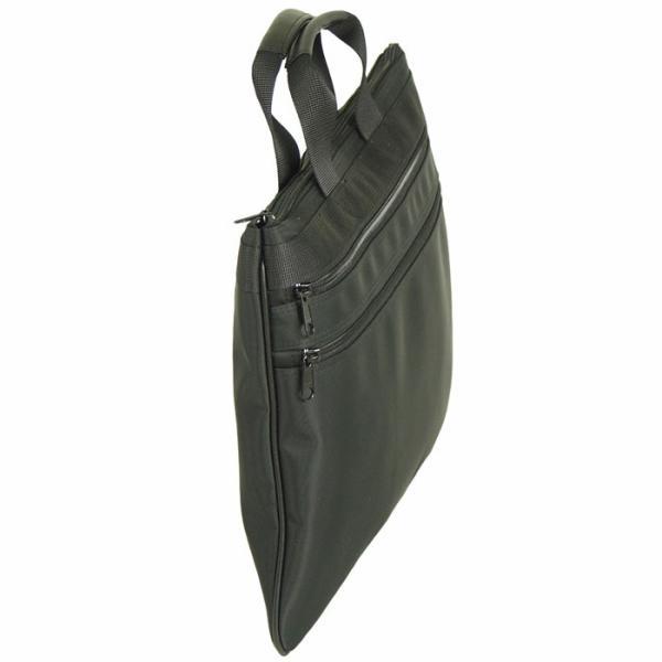 BLAZER CLUB(ブレザークラブ) 日本製 豊岡製鞄 ブリーフケース ビジネスバッグ マチなし メンズ B4 41cm No26288-01 クロ  ...|yusyo-shopping|03