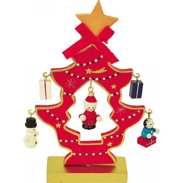 木製ミニクリスマスツリー◆SW-1003◆13cm . yusyo-shopping