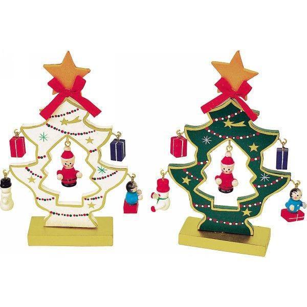 木製ミニクリスマスツリー◆SW-1003◆13cm . yusyo-shopping 02