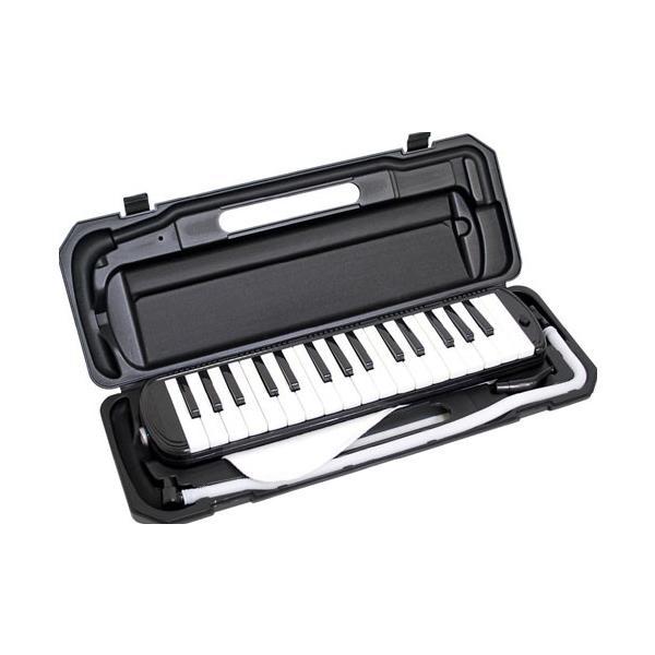 KYORITSU メロディーピアノ(ブラック) P3001-32K/BK ケース付 ..|yusyo-shopping