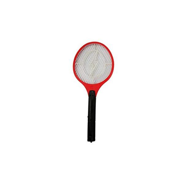 電撃!電気のパワーでハエ・蚊を撃退! ハエたたきラケット 電撃殺虫ラケット BIG 全長51cm ネット部22.5cm×19cm ..|yusyo-shopping