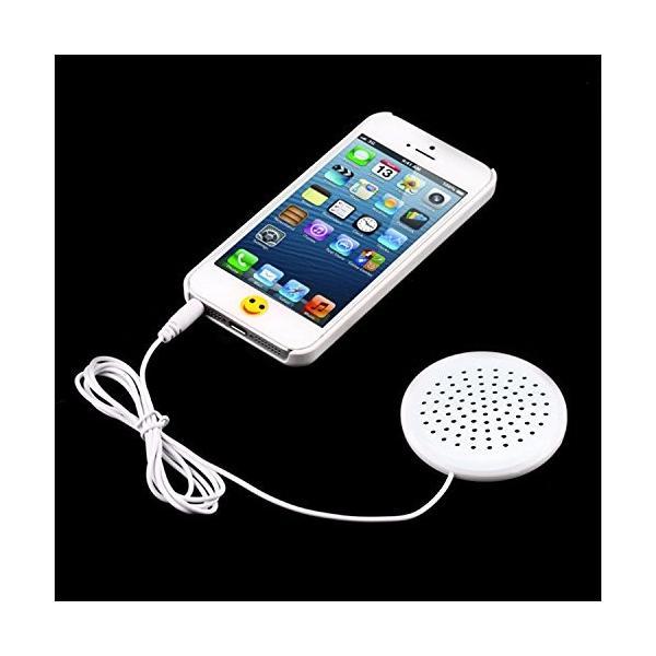 枕元に最適! ミニポータブルスピーカー iPhone iPod MP3 MP4 ラジオ CDプレーヤー スマートフォン 対応 3.5mmプラグ .