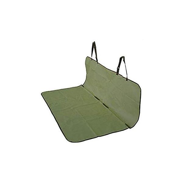 車載 ペット用 防水シートカバー 《グリーン》 後部座席用 143×132cm フリーサイズ ..|yusyo-shopping