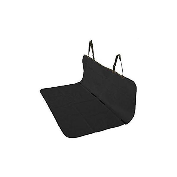 車載 ペット用 防水シートカバー 《ブラック》 後部座席用 143×132cm フリーサイズ ..|yusyo-shopping