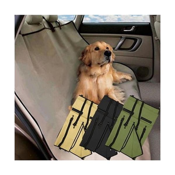 車載 ペット用 防水シートカバー 《ブラック》 後部座席用 143×132cm フリーサイズ ..|yusyo-shopping|03