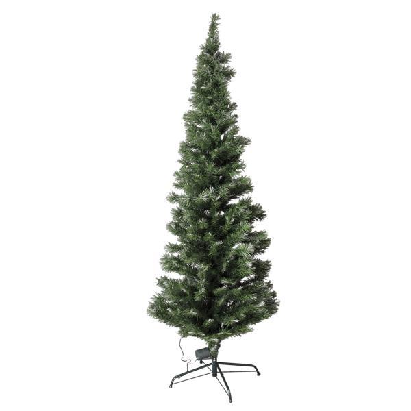 180cm ファイバーツリー グリーン クリスマスツリーに最適! 高輝度LED ..|yusyo-shopping|02
